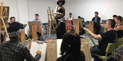 Drop-In Costumed Figure Drawing Studio