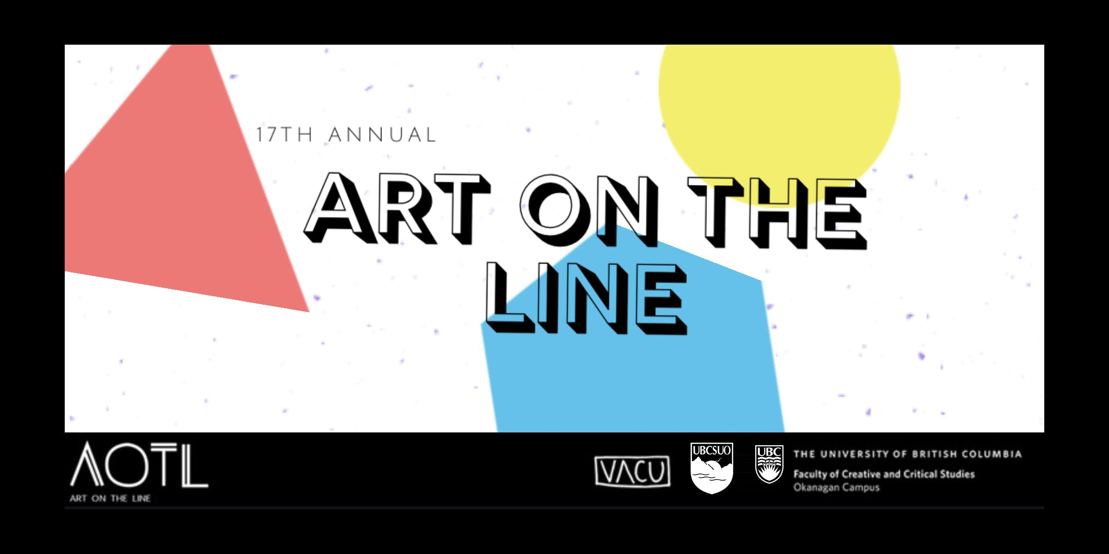 UBCSUO Visual Arts Course Union presents Art on the Line