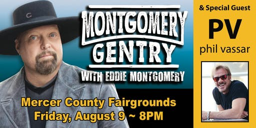 Montgomery Gentry and        Phil Vassar at Mercer County