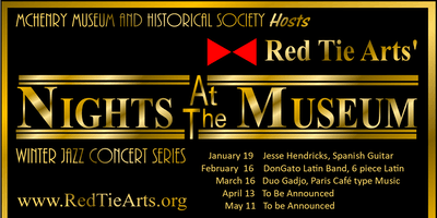 Nights at the Museum.   Red Tie Arts' Winter Concert Series.