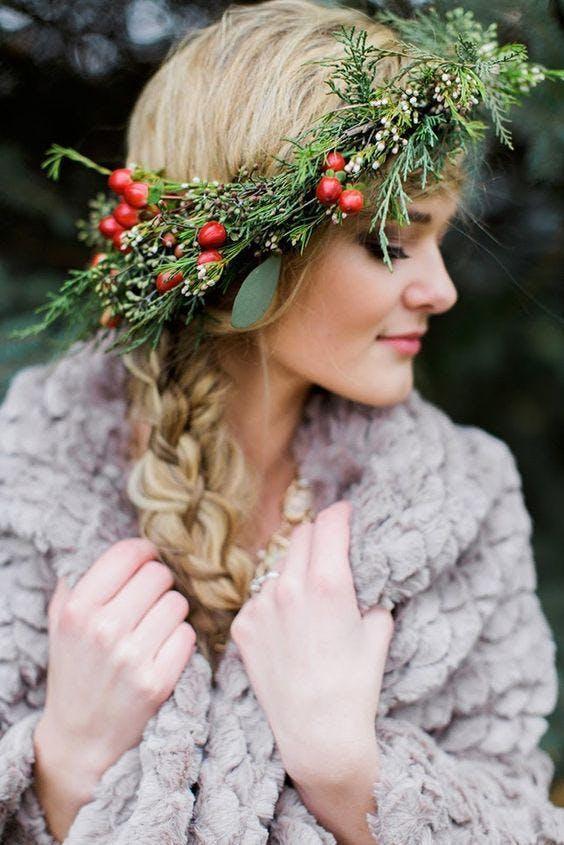 Winter Flower Crown Workshop