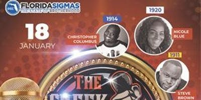 Phi Beta Sigma Fraternity Incorporated Presents The Greek Comedy Show