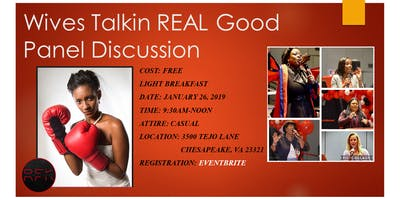 RFK Outreach presents Wives Talkin REAL Good Panel Discussion