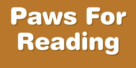Paws For Reading- Love on a Leash Reading Program tickets
