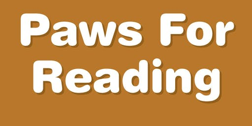 Paws For Reading- Love on a Leash Reading Program