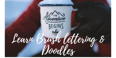 Brush Lettering & Doodles Workshop