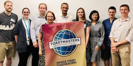 Bridge Street Toastmasters - Wynyard & Circular Quay Professionals tickets