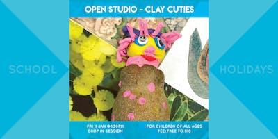 Open Studio : Clay Cuties