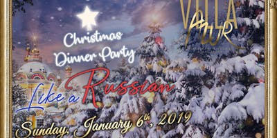 MIAMI MADE in RUSSIA Sunday January 6 2019 Russian Christmas at VIlla Azur