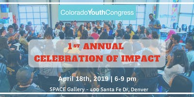 Colorado Youth Congress's 1st Annual Celebration of Impact
