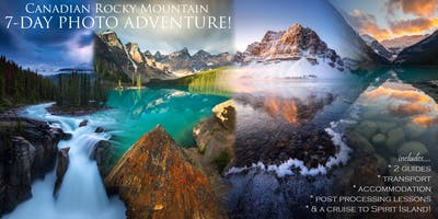 Banff, Lake Louise & Jasper Summer Photography Workshop and Tour
