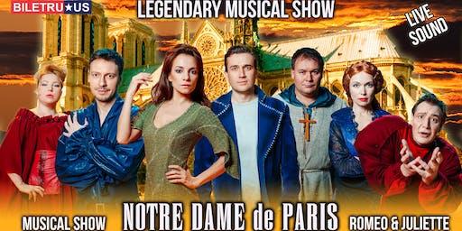 波士顿的音乐表演《巴黎圣母院》