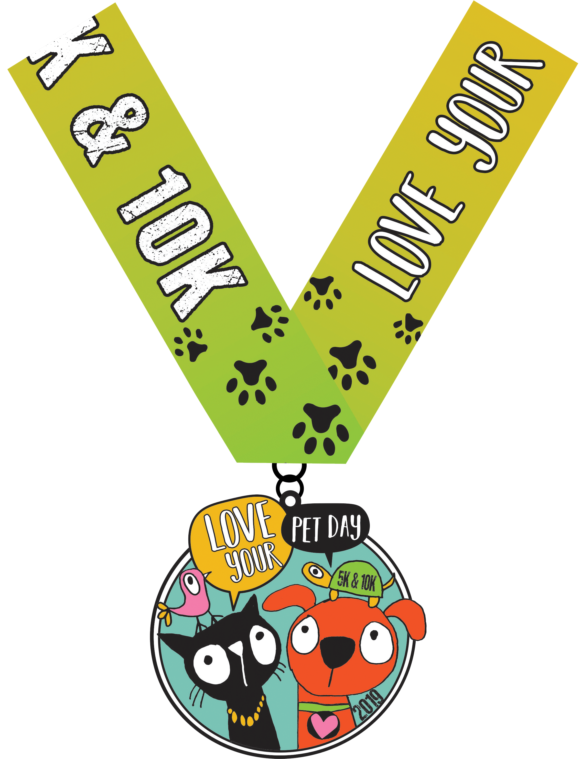2019 Love Your Pet Day 5K & 10K - Hartford