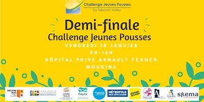 Demi-Finale Challenge Jeunes Pousses - TELECOM VALLEY