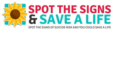 Spot the Signs Suicide Prevention Training Hatfield