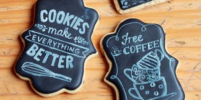 The Cookie Shop - Aula de Biscoitos Decorados Módulos 1+2