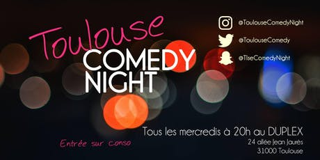 Toulouse Comedy Night billets