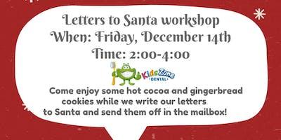 Letter to Santa workshop