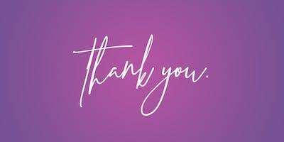 Thank You Reception 2019