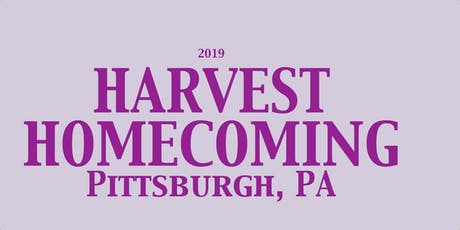 Harvest Homecoming 2019 tickets