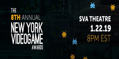 8th Annual New York Game Awards + After Party + Free Drinks + Meet & Greet!