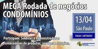 MEGA Rodada de negócios - CONDOMÍNIOS - 13-04-2019