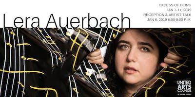 Lera Auerbach Reception & Artist Talk