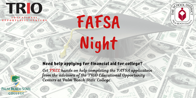 TRiO EOC/SDPBC FAFSA Night