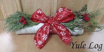 Yule Log Dec 19th - Studio