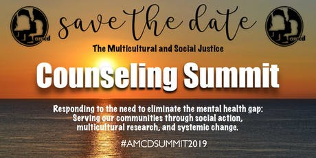 AMCD Multicultural and Social Justice Counseling Summit tickets