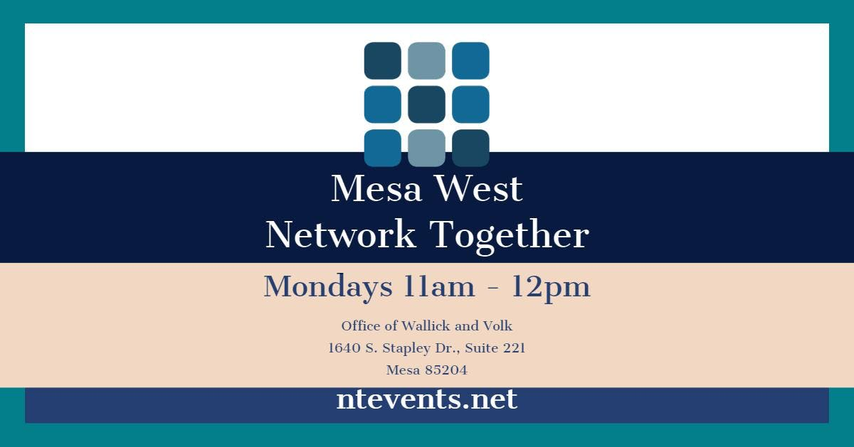 Mesa West Business Connections