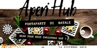 AperiHUB, porta party di Natale