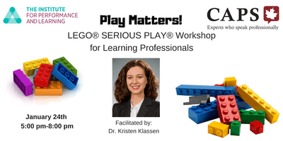 Play Matters! A LEGO® SERIOUS PLAY® Workshop for Learning Professionals