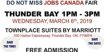 FREE: Thunder Bay Job Fair - March 6th, 2019