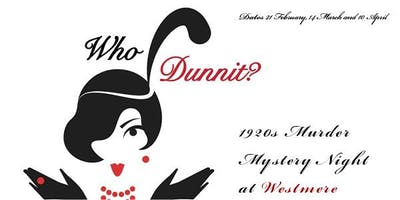 1920s Murder Mystery Night at Westmere