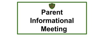 Parent Informational  Meeting for Prospective Allegiance Parents/Guardians