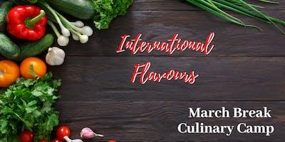 March Break Camp: International Flavours