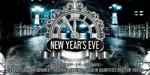 Upscale S 2019 New Year Eve Party