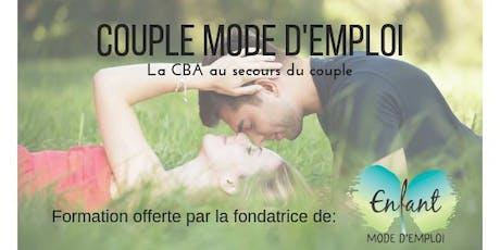 Couple Mode d'Emploi (Rive-Nord de Montréal) billets