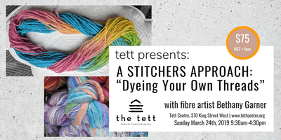 Dyeing Your Own Threads with Bethany Garner