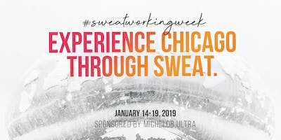#SweatworkingWeek brought to you by Michelob ULTRA: RUNAWAY Fitness 7:10 am