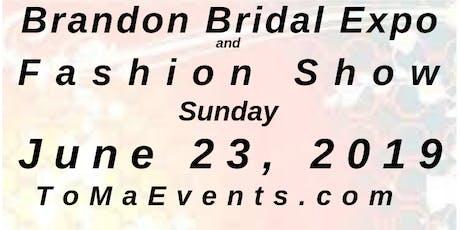 "Brandon Bridal Expo June 23, 2019, ""An Intimate Wedding Affair"" Tampa tickets"