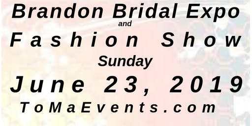 "Brandon Bridal Expo June 23, 2019, ""An Intimate Wedding Affair"" Tampa"