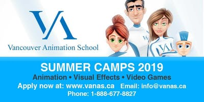 Teens Summer Camp: Animation, Visual Effects and Video Game Design