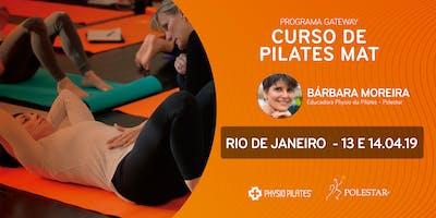 Curso de Pilates Mat - Physio Pilates Polestar - Rio de Janeiro