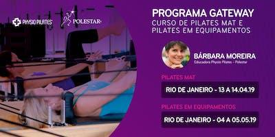 Programa Gateway - Physio Pilates Polestar - Rio de Janeiro