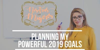 Inspiring workshop to plan a beautiful 2019 year