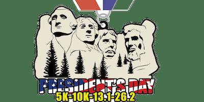 2019 President's Day 5K, 10K, 13.1, 26.2 -Eugene