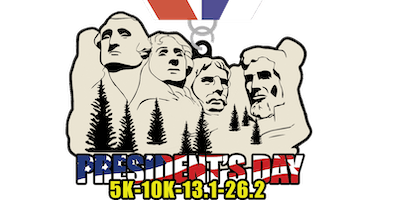 2019 Presidents Day 5K, 10K, 13.1, 26.2 -Charlest