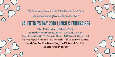 San Francisco Public Relations Round Table Valentine\